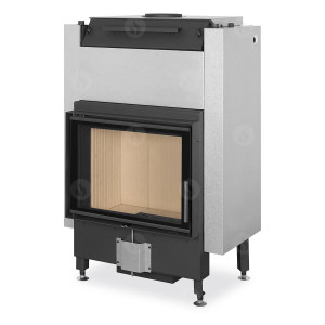 Romotop - teplovodná krbová vložka -DYNAMIC W 2g 66.50.01P - krbová vložka s teplovodným výmenníkom a trojsklom - 5,8-15,1 kW