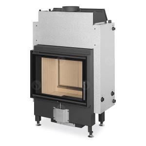 Romotop - teplovodná krbová vložka - DYNAMIC WB 2g 66.50.01 - krbová vložka s teplovodným výmenníkom, dvojsklom a zadným prikladaním - 5,9-15,3 kW