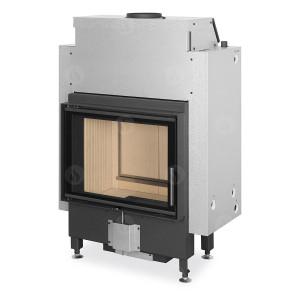 Romotop - teplovodná krbová vložka - DYNAMIC WB 2g 66.50.01P - krbová vložka s teplovodným výmenníkom, trojsklom a zadným prikladaním - 6-15,6 kW