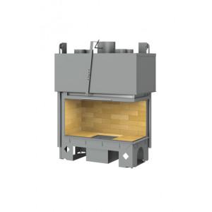 TOTEM - teplovzdušná krbová vložka - Lateral 800 - 13,5 kW
