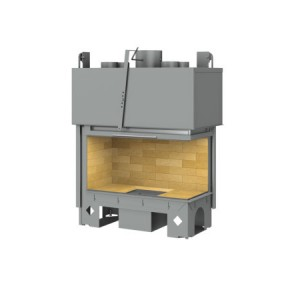 TOTEM - teplovzdušná krbová vložka - Lateral 900 - 14 kW