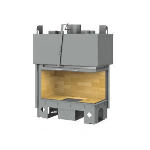 TOTEM - teplovzdušná krbová vložka - Lateral horizon 1000 - 17 kW