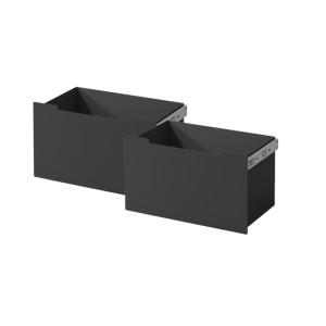 Nordpeis - Set zásuviek s čiernym čelom pre ME Bench