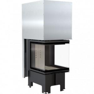 Kratki - krbová vložka teplovzdušná, NBC - /600/400/ 8 trojstranné presklenie - 8 kW