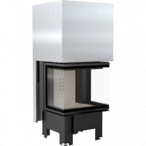 Kratki - krbová vložka teplovzdušná, NBC - /680/280/ 9 trojstranné presklenie - 9 kW