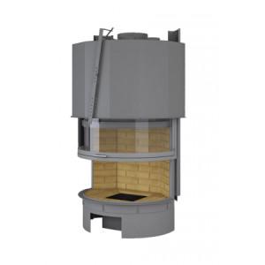 TOTEM - teplovzdušná krbová vložka - Panoramique 900 smoke trap - 10 kW