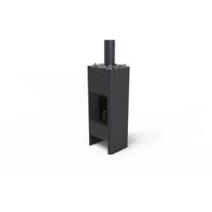UNICO - Teplovzdušné krbové kachle - TIMO STEEL, 11,5 kW