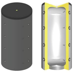 SCHINDLER+HOFMANN - Akumulačná nádrž TPSM1000 s izoláciou
