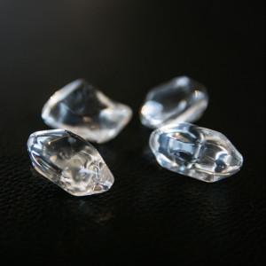 Kryštálové kamienky - FIRE GLASS transparentné